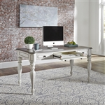 Magnolia Manor Writing Desk in Antique White Finish by Liberty Furniture - 244-HO107