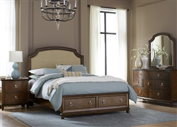 Midland Park Storage Bed 6 Piece Bedroom Set in Toffee Finish by Liberty Furniture - LIB-287-BR23FS