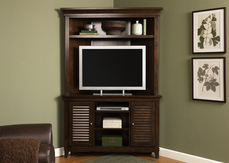 Lakewood 45 Inch Tv Corner Entertainment Center In
