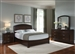 Avalon Platform Bed 6 Piece Bedroom Set in Dark Truffle Finish by Liberty Furniture - 505-BR23H