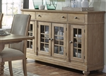 Harbor View Buffet in Sand Finish by Liberty Furniture - 531-CB6642