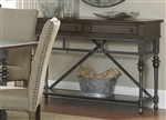 Ivy Park Sideboard in Weathered Honey & Silver Pewter Finish by Liberty Furniture - LIB-563-SB5636