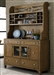 Town & Country Buffet & Hutch in Sandstone Finish by Liberty Furniture - LIB-603-CH6085