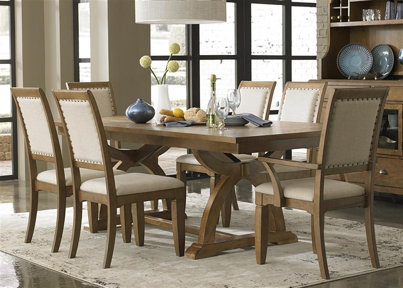liberty furniture trestle table 2