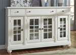 Harbor View Buffet in Linen Finish by Liberty Furniture - 631-CB6642