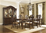 Messina Estates 7 Piece Dining Set in Cognac Finish by Liberty Furniture - 737-DR