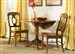 Low Country Drop Leaf Pedestal Table 3 Piece Set in Suntan Bronze Finish by Liberty Furniture - 76-T4242
