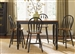 Low Country Gathering Table 5 Piece Set in Anchor Black with Suntan Bronze Finish by Liberty Furniture - 80-GT5454