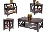 Piedmont Occasional Tables in Dark Mocha Finish by Liberty Furniture - 955-OT1010