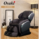Osaki OS-4000 LS ZERO Gravity Massage Chair Black, Brown or Ivory