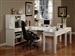 Boca 6 Piece Home Office Set in Cottage White Finish by Parker House - BOC-347C-6