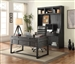 Hudson 3 Piece Home Office Set in Vintage Midnight Finish by Parker House - HUD-3-SET