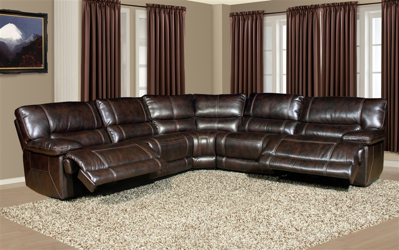 Pegasus 5 Piece Power Reclining Sectional in Nutmeg  : PH MPEG 811LP NU 5 2 from www.homecinemacenter.com size 800 x 502 jpeg 348kB