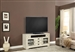 Nantucket 63-Inch TV Console in Vintage Burnished Artisan White Finish by Parker House - NAN-912