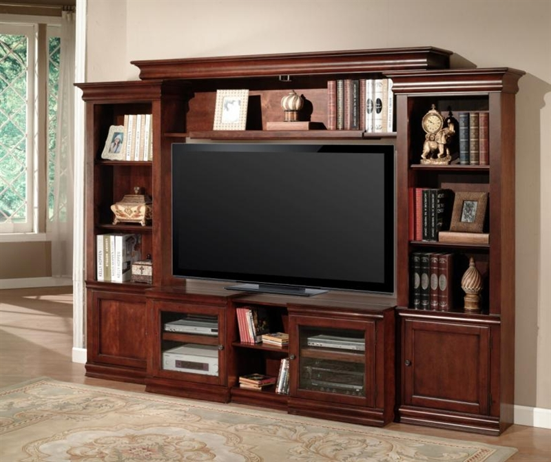 Amor 43-60-Inch TV 4 Piece Expendable Premier Wall Unit in ...
