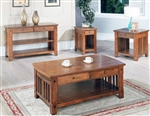 Sedona Occasional Tables in Antique Vintage Oak Finish by Parker House - TAB-13-00