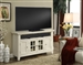 Tidewater 50-Inch TV Console in Vintage White Finish by Parker House - TID-50