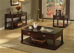 Biscayne Occasional Tables in Merlot Finish by Parker House - TPBI-00