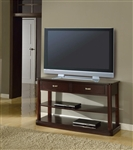 Biscayne 50-Inch TV Console/Sofa Table in Merlot Finish by Parker House - TPBI-07