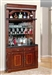 Wellington 2 Piece Bar Unit in Vintage Brown Mahogany Finish by Parker House - WEL-465-2