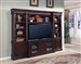 Wellington 4 Piece Estate Wall in Vintage Brown Mahogany Finish by Parker House - WEL-700-4
