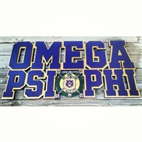 Omega Psi Phi Wall Structure