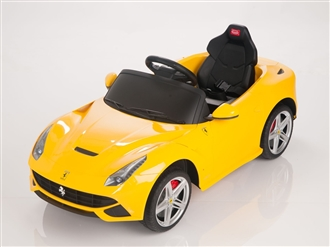 Ferrari F12 Berlinetta Ride On Car + Remote - Yellow
