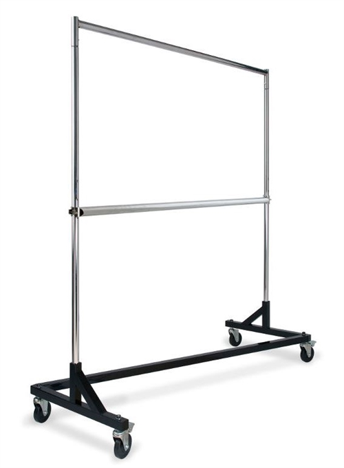 Z Rack Garment Rack Heavy Duty W Extra Hangrail