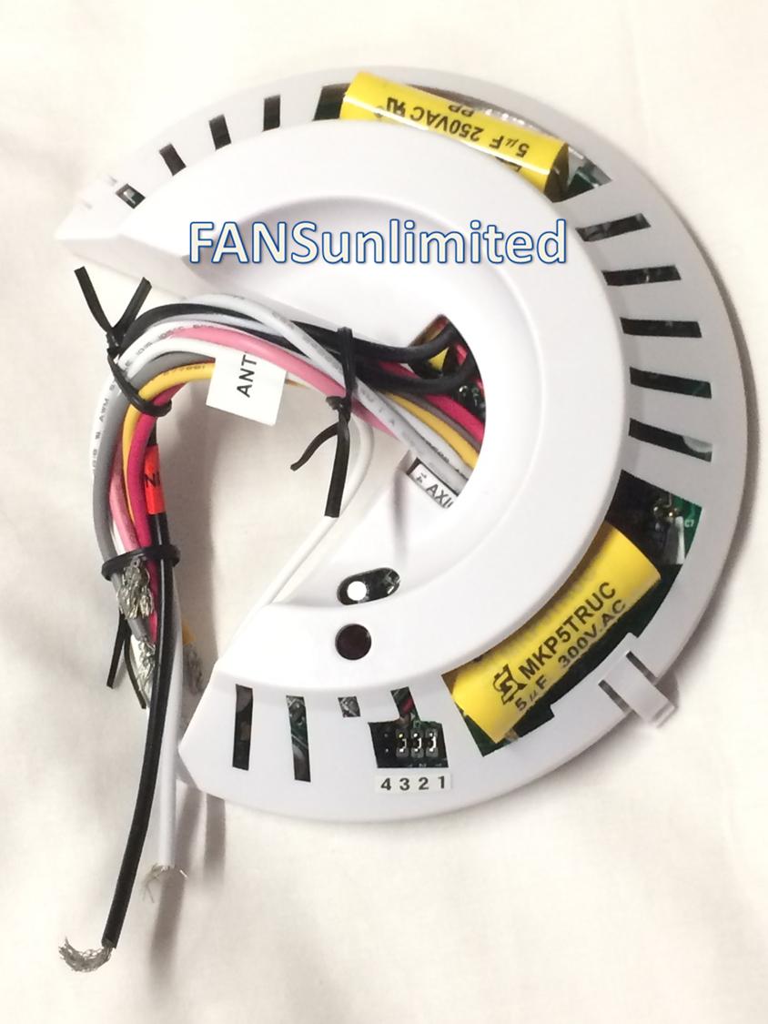 Wiring Diagram Fan Hunter 85483 01 Reinvent Your Ceiling Light Genuine Replacement Receiver Rh Ceilingfanrepairparts Com Remote