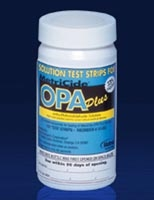 Metricide OPA Plus Test Strips, 100/bottle, 2 bottles/case
