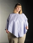 "Poncho, Extra Coverage, 56"" x 28"" Blue, 25/case"