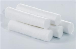 "Cotton Dental Rolls, Size 2, Medium, Non Sterile, 1/2"" x 3/8"", 2000/box"