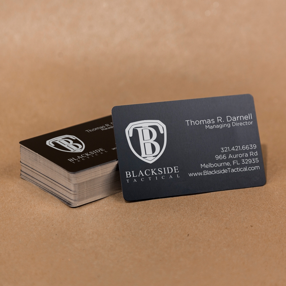 Tactical Business Cards