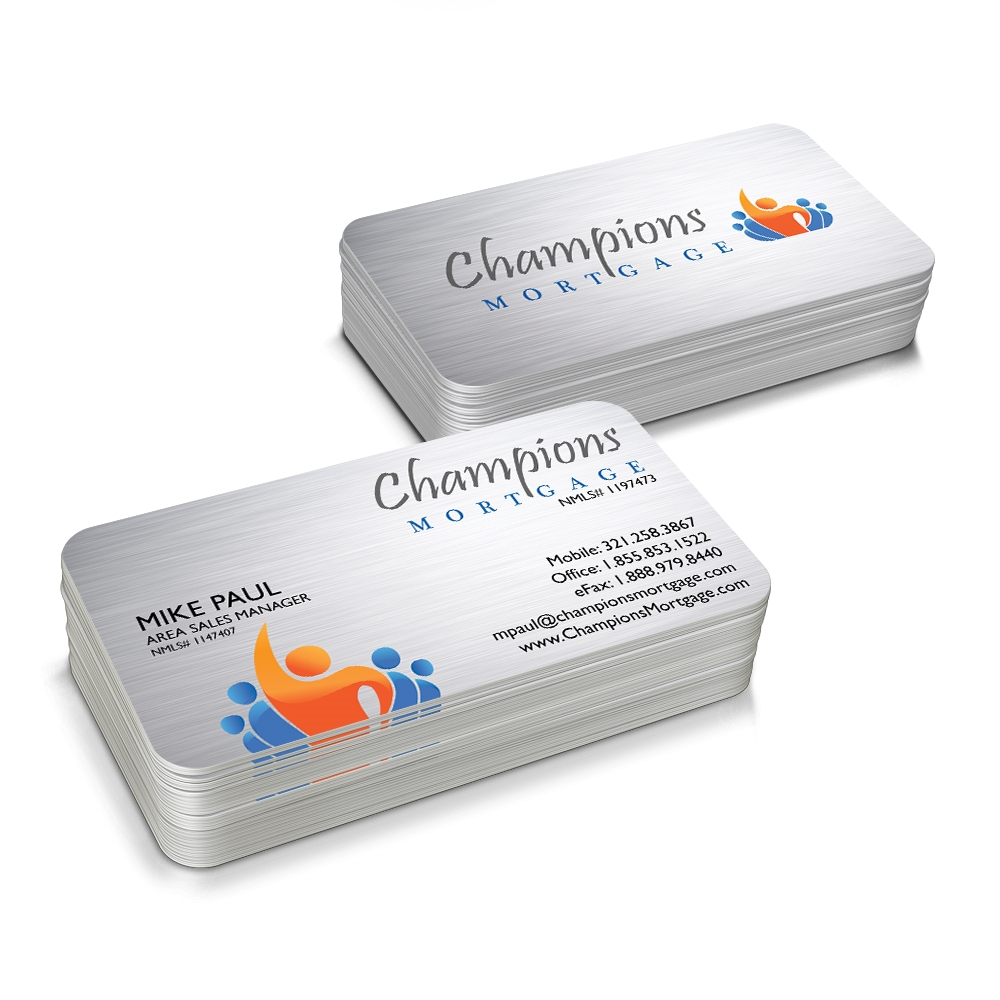 Mortgage Business Cards