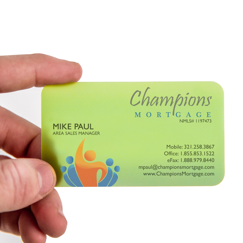 Champions Mortgage Business Cards