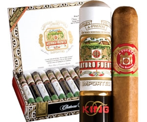 Arturo Fuente Chateau Fuente King T Tubos (Single Stick)