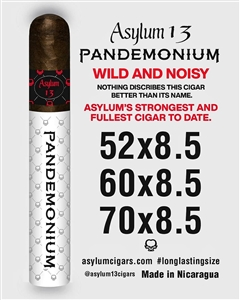 Asylum 13 Pandemonium 8 1/2 x 60 (Single Stick)