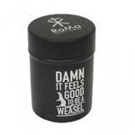 Xikar Roma Craft Mini Ashtray Can - Matte Black