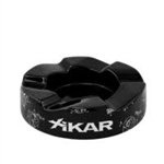 "Xikar Wave Ashtray Black (8.5"" Diameter x 2"" Tall)"