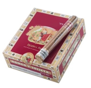 "Romeo y Julieta Reserva Real ""It's a Boy"" (10 Glass Tubes/Box)"