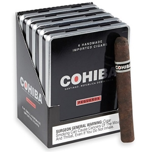 Cohiba Black Pequenos (5 Tins of 6)