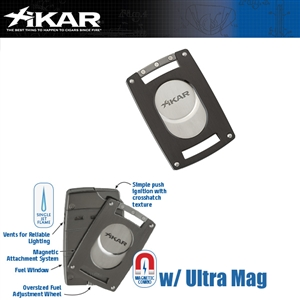 XIKAR Ultra Slim Black