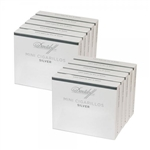 Davidoff Mini Cigarillos Silver Light (10 Packs of 20)
