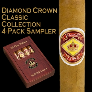 Diamond Crown Robusto No. 4 Gift Pack (4/Box)