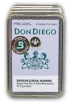 Don Diego Preludes (Single Tin of 6)