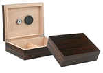 The Vizcaya 25 Count Humidor - Ebony
