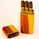 Cedar 3 Cigar Churchill Travel Case