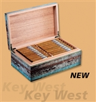Craftsman's Bench Key West 90 Count Humidor (13 1/2 Ó x 8 1/2 Ó x 5Ó)