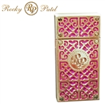 Rocky Patel Burn Double Flame Torch (Pink/Gold)