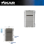 XIKAR Table Top Allume Steel